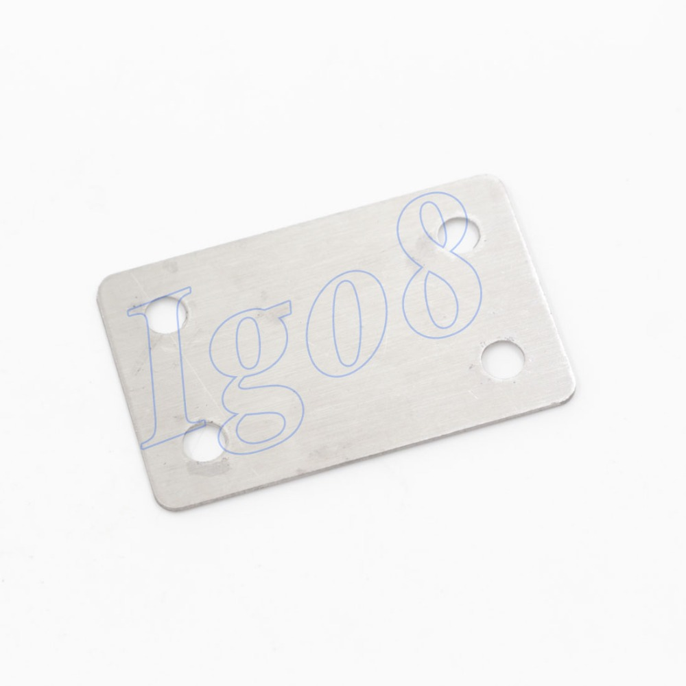 10pcs Cut Price Stainless Steel 60mm x 38mm Connection Pieces