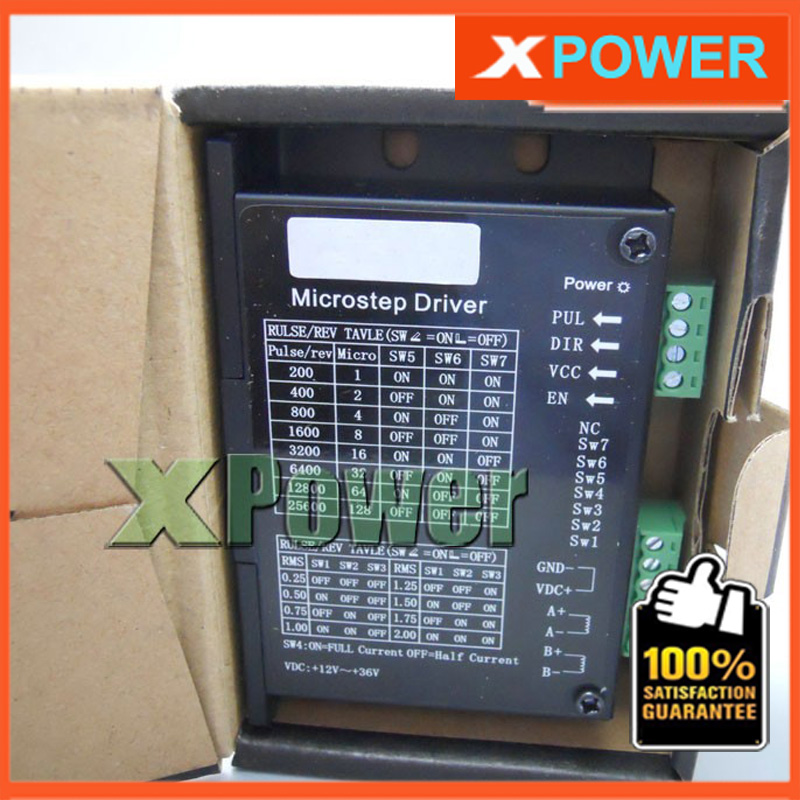 Wholesale Micro Stepper Motor Driver Board Controller DC12~36V AC12~24V Input 0.3-2A Output Four Phase Two Phase Hybrid