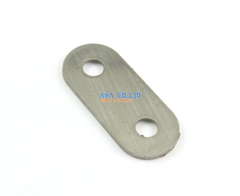 32 Pieces 37*16*1.8mm Stainless Steel Flat Corner Brace Connector Bracket