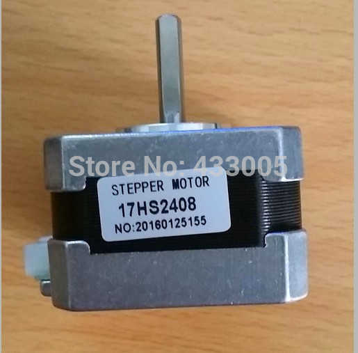 Best price and Quality 17HS2408 4-lead Nema 17 Stepper Motor 42 motor 42BYGH 0.6A CE ROSH ISO CNC Laser and 3D printer