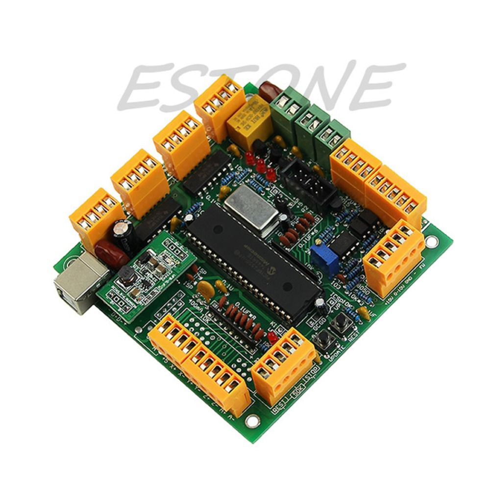 USB CNC 2.1 4 Axis USB CNC Controller Interface Board CNC USB MK1