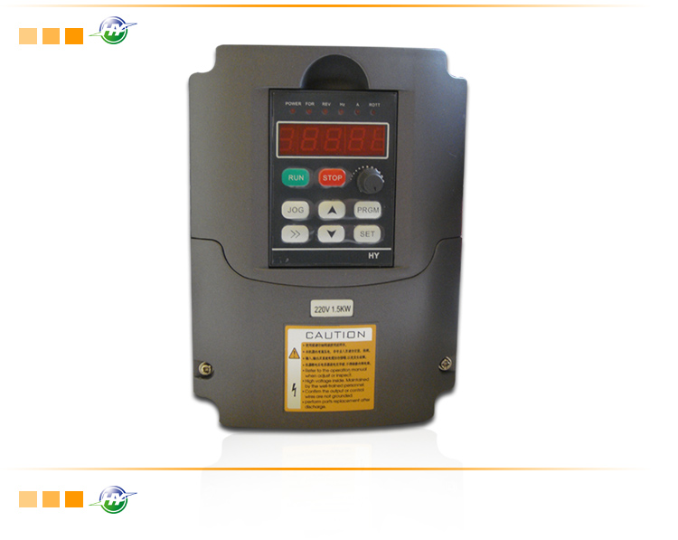 2HP 1.5KW 400HZ VFD Inverter Frequency converter 3 phase 220V input 3phase 220V output 7A for Engraving spindle motor
