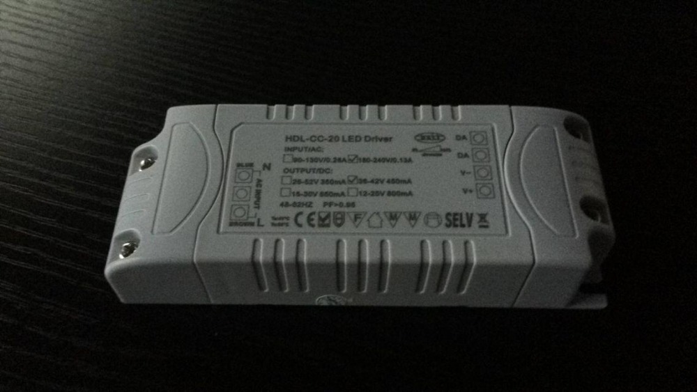 Fast shipping HDL-CC-20A LED driver