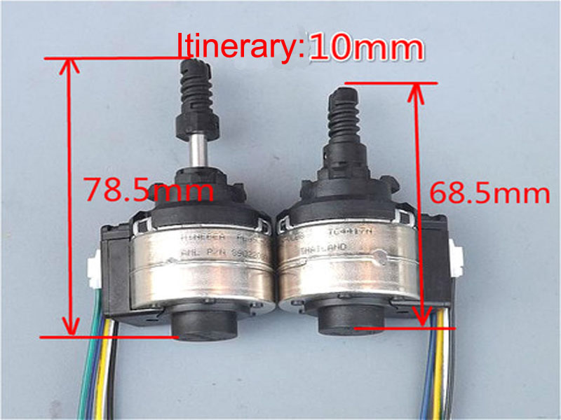 Itinerary 10mm Current 0.5A  Micro Electric telescopic rod , Positioning screw pusher motor stepper motor