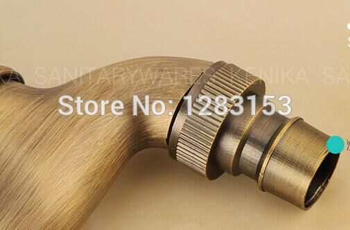 high quality antique brass washing machine bibcock  Lengthen garden faucet water dispenser tap outdoor wall faucet  wall mounted