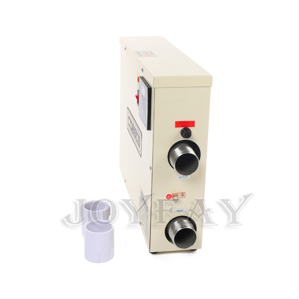 5.5KW 380V Swimming Pool & SPA Home Bath Hot Tub Thermostat Electric Water Heater