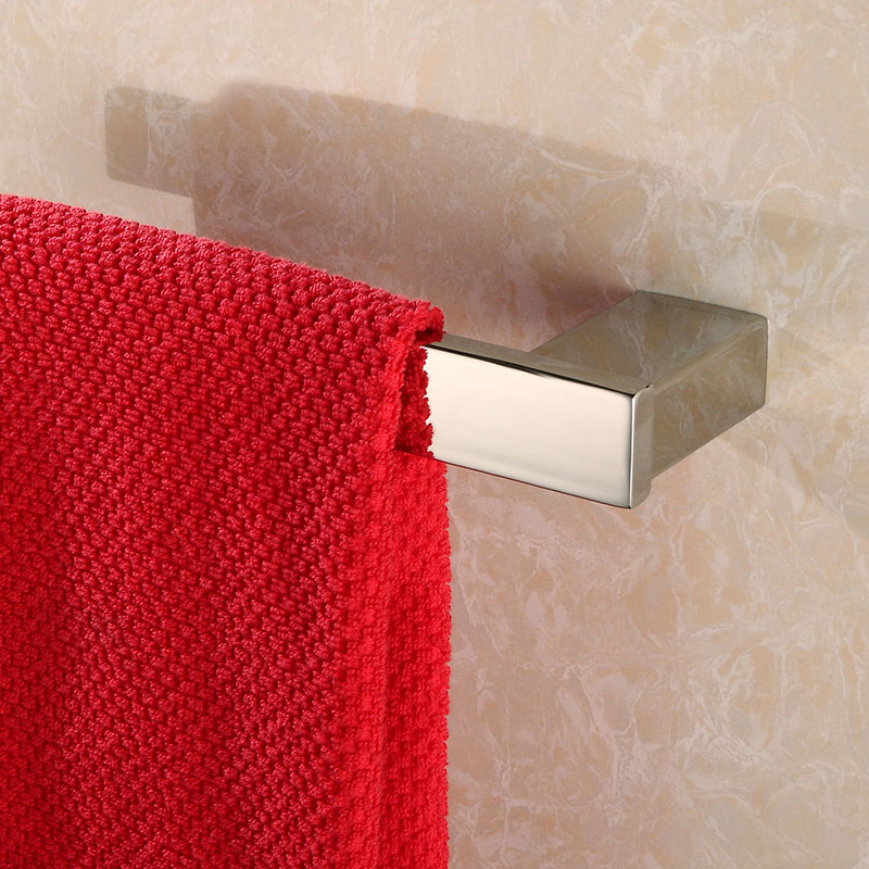 Modern Towel Ring New Bathroom Hardware set Wall Mounted Bathroom Towel 304 Stainless Steel Polished N7000-9