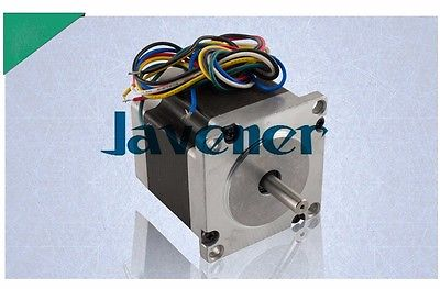 HSTM57 Stepping Motor DC Two-Phase Angle 1.8/2.8A/2.5V/4 Wires/Single Shaft