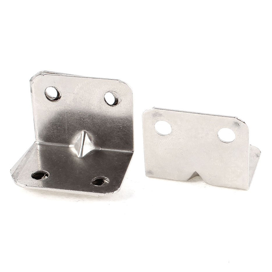 Furniture Metal Right Angle Corner Brace Shelf Brackets 32mmx25mm