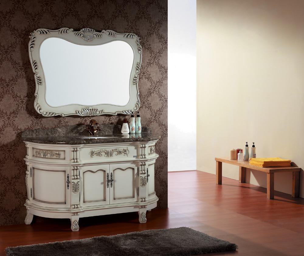 Antique bathroom vanity for