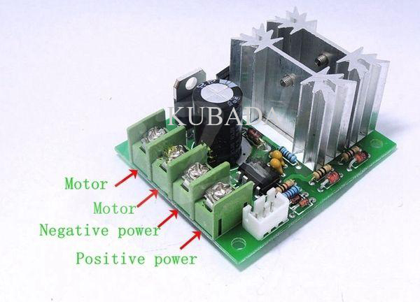 DC 6V-30V 10A DC Motor Controller speed regulation pwm DC motor speed 300W