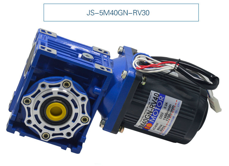 220V 40W 5M40GN-RV40 single-phase AC worm gear motor, mechanical equipment / power tools / DIY accessories motor