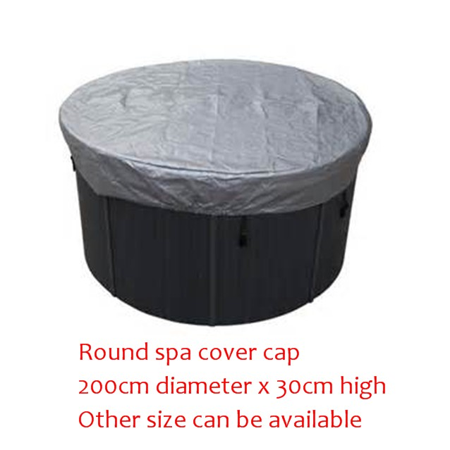 ROUND spa cover cap  diameter 200cm x 30cm high Other Size can be available