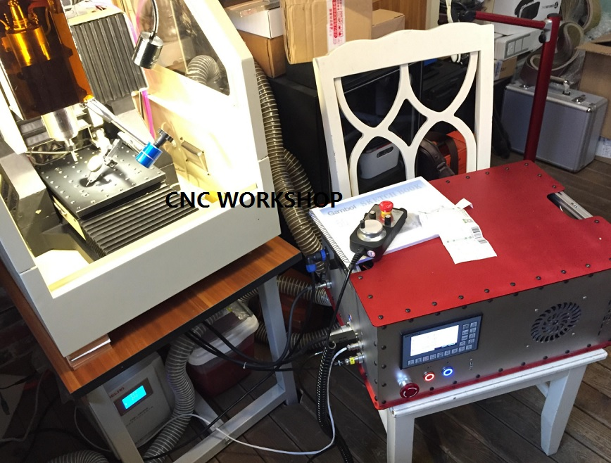4 Axis Offline Stand Alone Replace Mach3 USB CNC Controller CNC Router Engraving Drilling Milling Machine Handwheel MPG