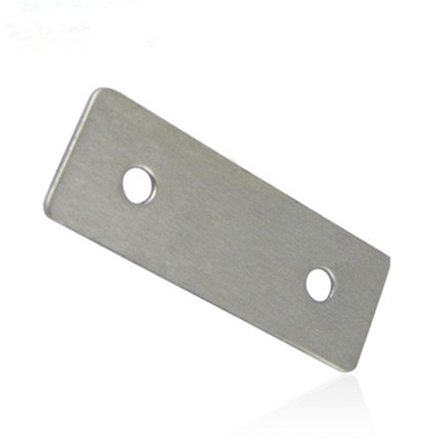 A plane straight strip stainless steel bracket fixed furniture links,30pcs/lot