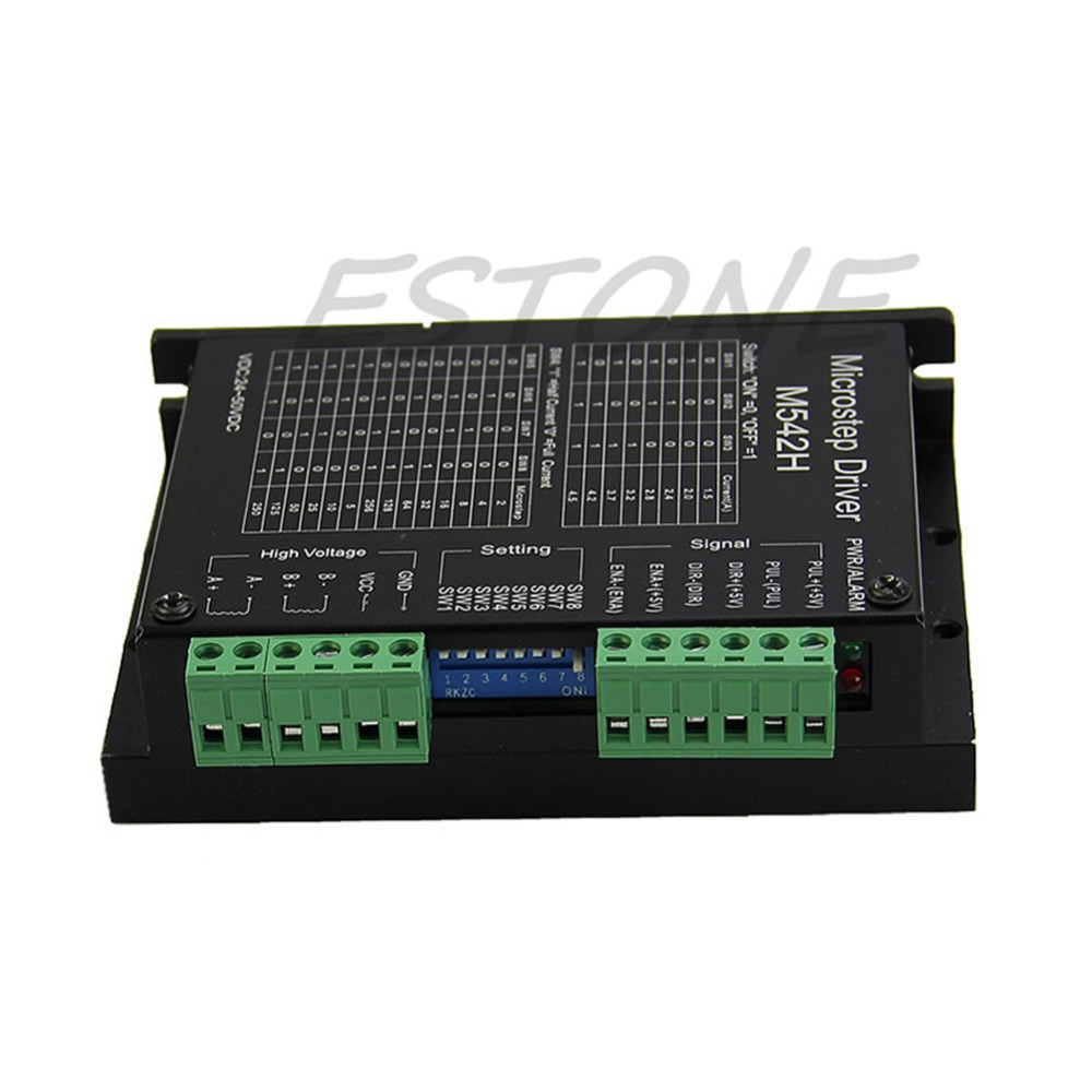 CNC Micro-Stepping Stepper Motor Driver M542/DM542 Bi-polar 2Phase 4.5A Switch  -Y122