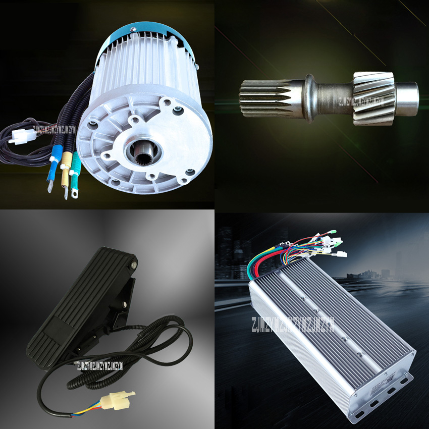 1PC High Power Differential Motor+1PC Differential Controller+1PC Gear Connection Shaft (18Wheel to 15Wheels)+1PC Throttle Pedal