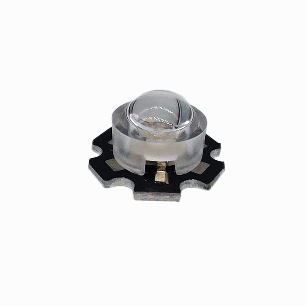 30 pcs/lot 13mm LED mini Lens 45 60 90 100 Degree Needn't Holder 1W 3W synthetical IR LED Power lenses Reflector Collimator