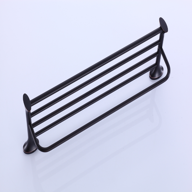 Ulgksd Bath Towel Holders Fasion Bathroom Accessories Towel Shelf Oil Rubbed Bronze Wall Mounted