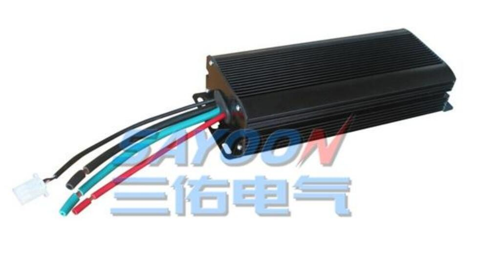 Powerful , ZD-600S 3000W DC brush motor controller, series motors for the electric four-wheel vehicles, golf carts, recreational