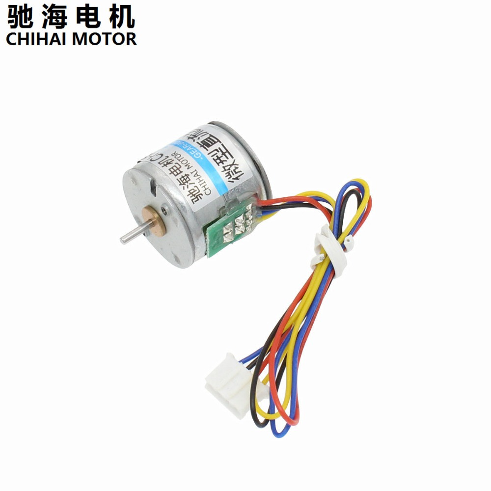 Chihai Motor Chst 20by 2 Phase 4 Wire Mini Stepper 20mm 06a Wiring 20ohm