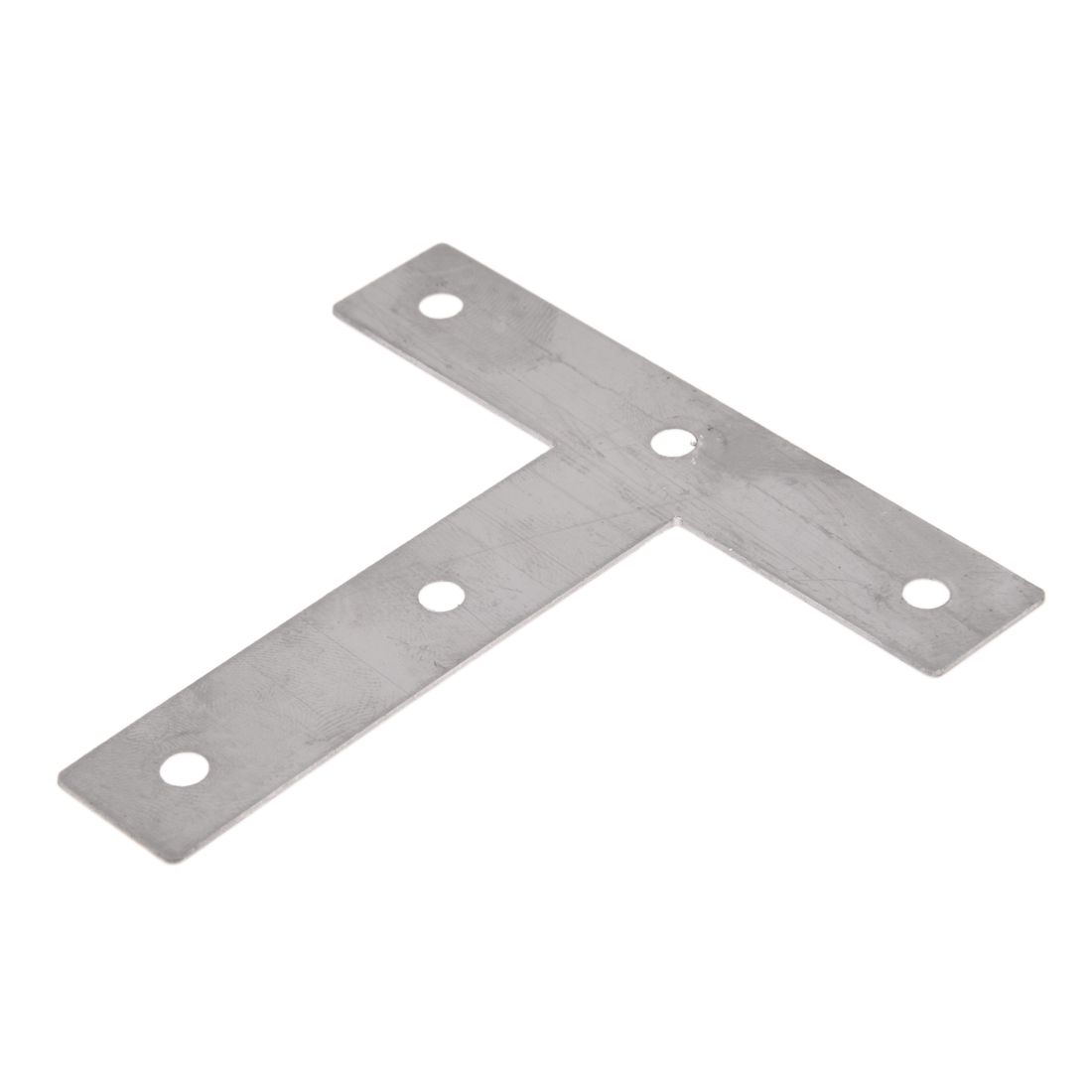 5 Pcs Angle Plate Corner Brace Flat T Shape Repair Bracket 80mm x 80mm