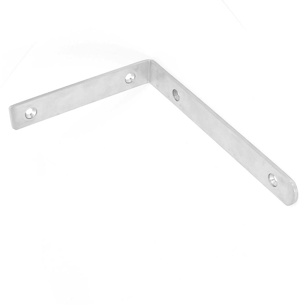 200x138mm L Shape Stainless Steel Corner Brace Repair Angle Bracket