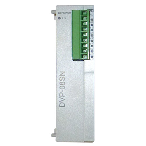 DVP08SN11R Original Brand New Delta S Series PLC Digital Module DO 8 Relay 1 Year Warranty