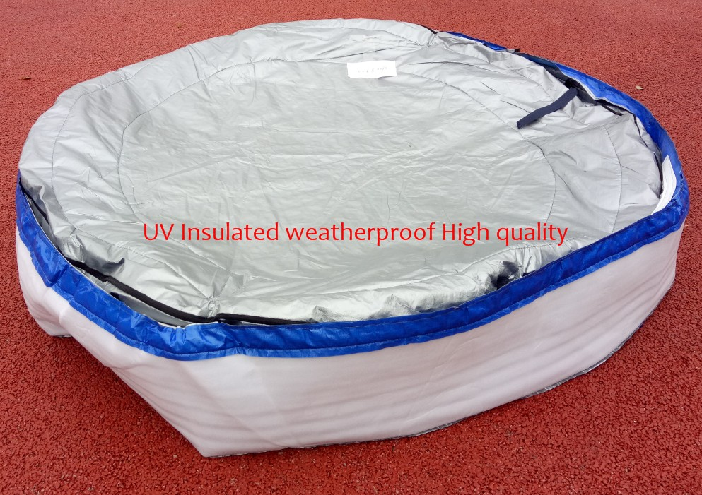 Norway spa Insulated UV Weatherproof Round hot tub spa cover bag 2.2m round