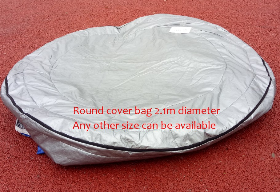 Norway spa Insulated UV Weatherproof Round hot tub spa cover bag 2.1m round