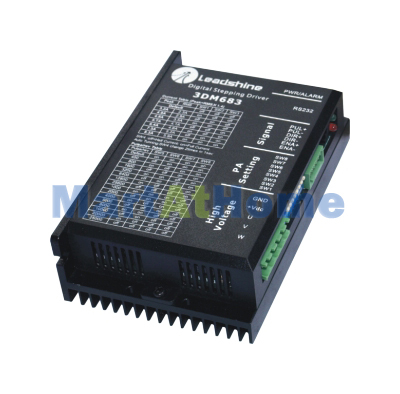 Leadshine 3DM683 Microstep CNC Router 200 KHz 3-Phase Stepper Motor Driver 60 VDC 0.5A to 8.3A #SM021 @SD