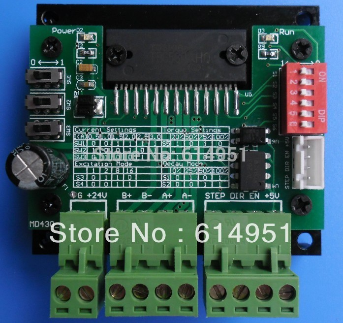 MD430 Low Noise Digital Stepper Motor Driver Board