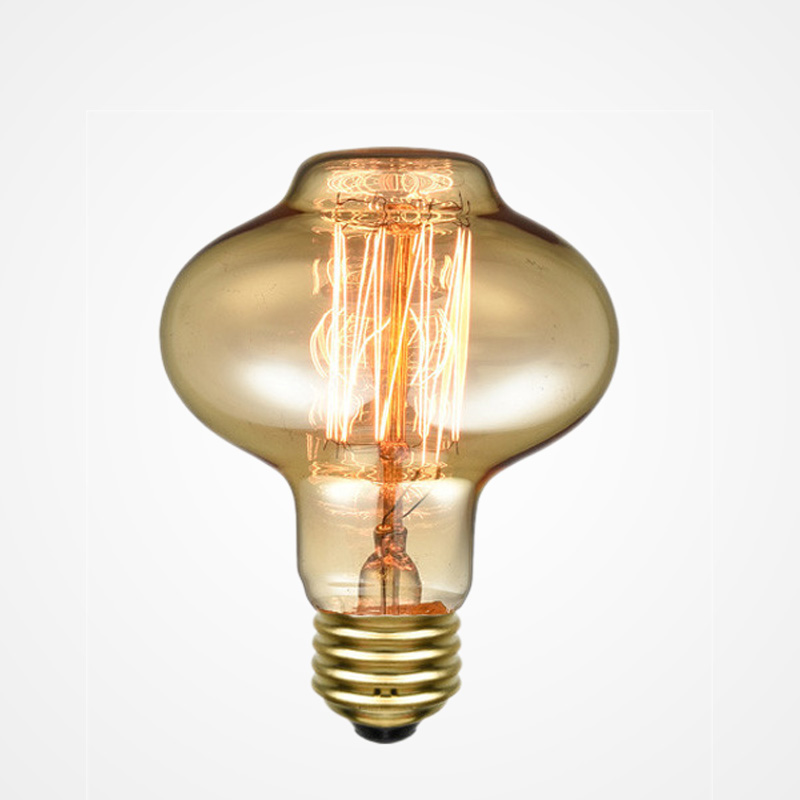 Vintage Incandescent Bulb 40W 220V Retro Edison bulb  Art Decoration filaments Light Bulb E27 Antique Lantern Bulbs