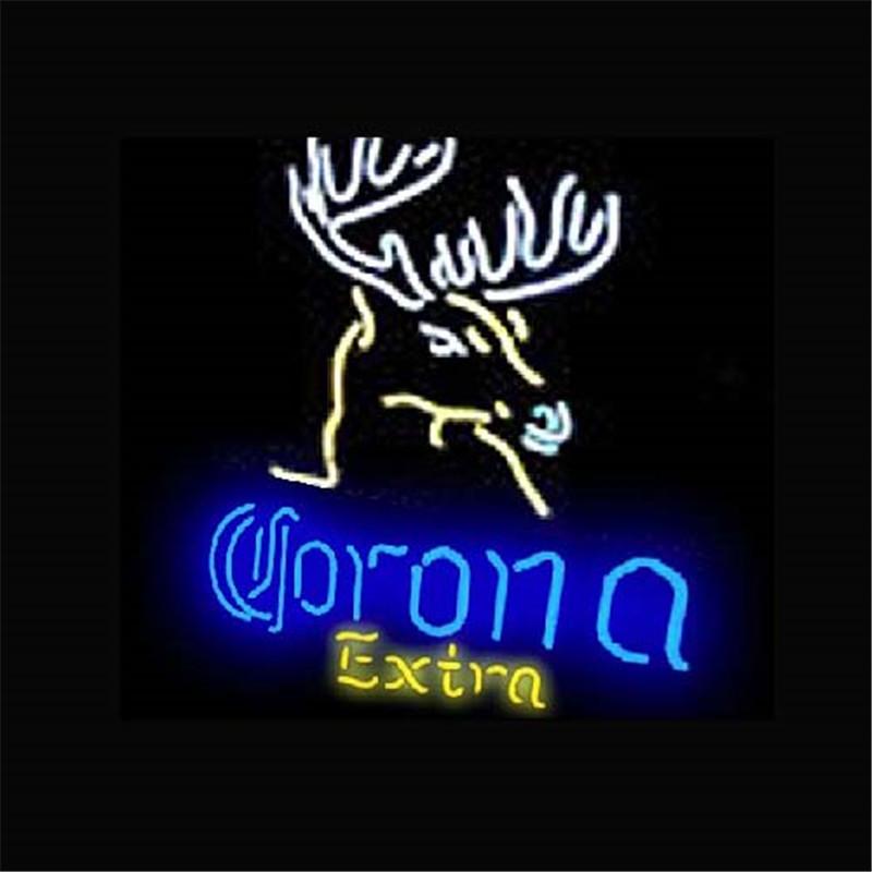 863dbefde783c5 17 14 quot  CORONA EXTRA NEON SIGN Signboard REAL GLASS BEER BAR PUB  Billiards display