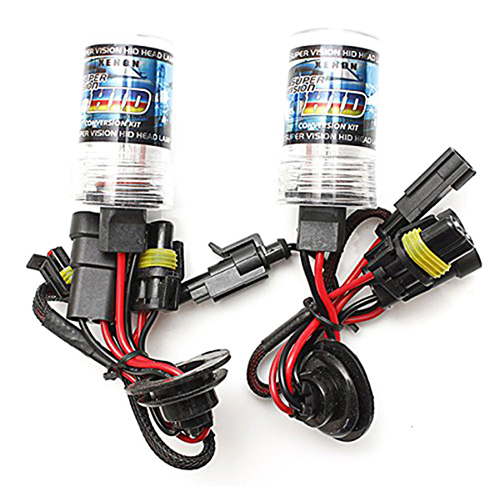 2 Stk.55W HID xenon lamp car bulb light lamp kit Headlight 12V DC (H1 30000K)
