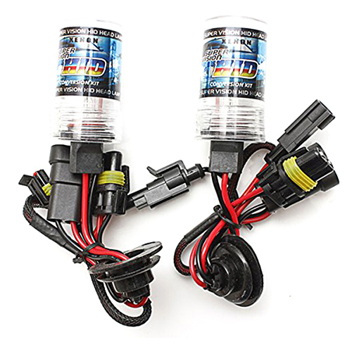 2 Stk.55W HID xenon lamp car bulb light lamp kit Headlight 12V DC (H3 12000K)