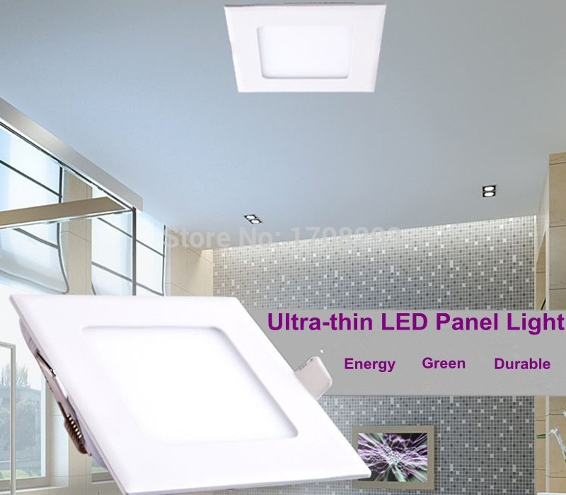 20pcs/lot  Dimmable 9W12W15W Round led panel ultra thin ceiling light AC110~240V for kitchen bathroom lighting Brazil