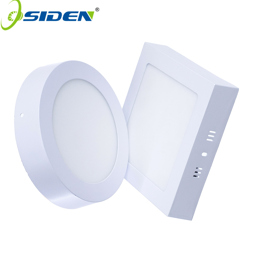 OSIDEN AC 85-265V LED Panel Light 2835SMD 6W 12W 18W 12W 24W LED Ceiling Light Round Ultra thin LED Downlight Indoor Lighting