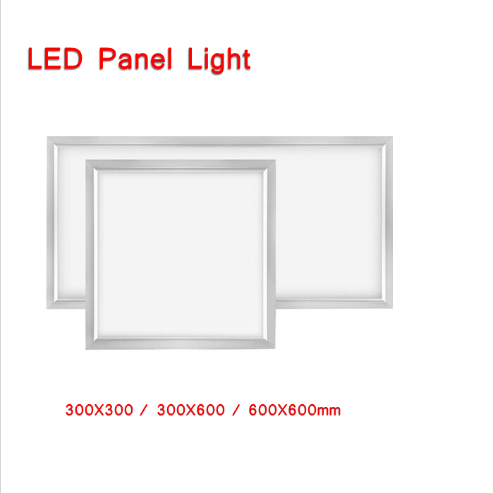 2Pcs/Lot Square led panel12w/24w/36w kitchen light  300*300,300*600,600*600mm bathroom panel led lamp office ceiling lamp