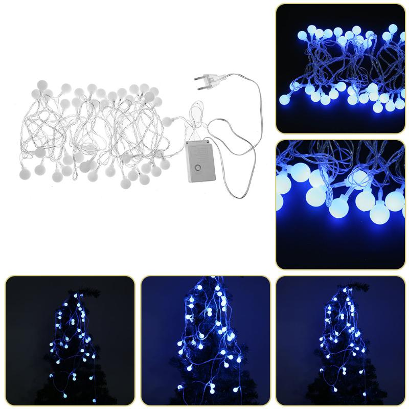 5m 40LED Cherry Balls Fairy String Decorative Lights 3V Wedding Christmas Outdoor Patio Garland Decoration