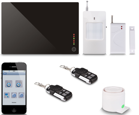 GSM Wireless Home Burglar Alarm System G1A