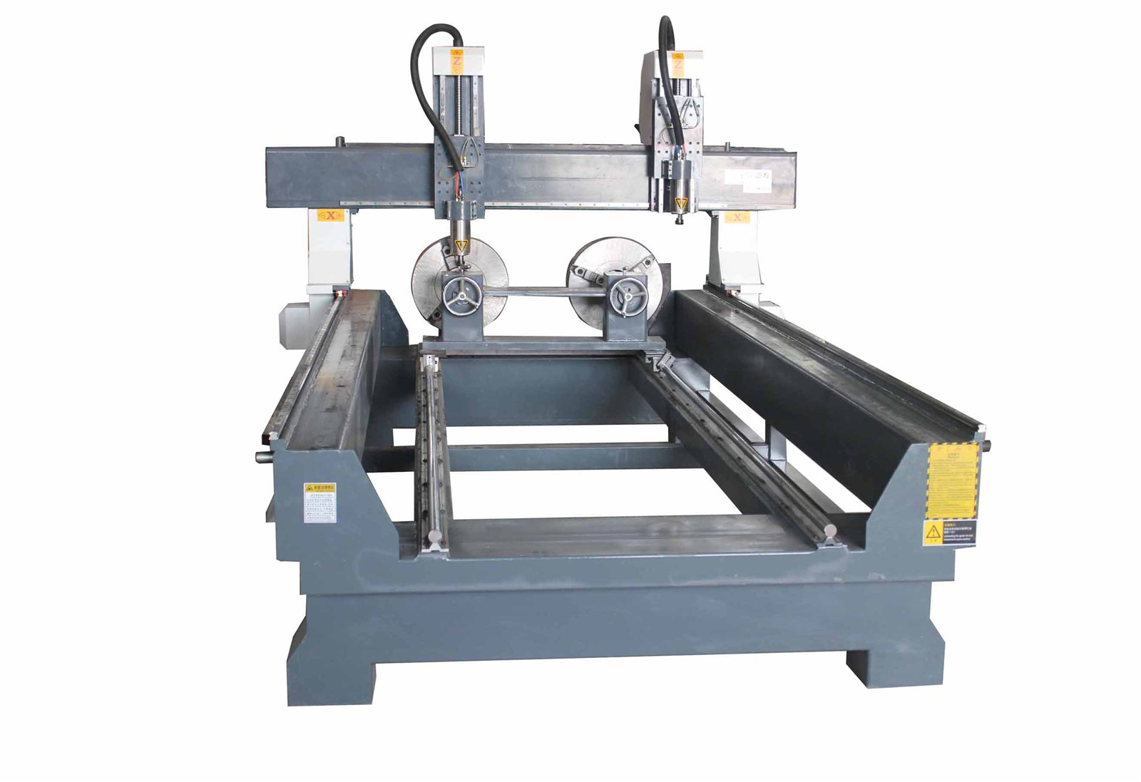 Rf 1325 Two Separate 2 2kw Spindle 4 Axis Rotary Cnc