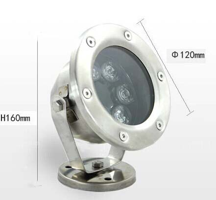 18W rgb led underwater lighting