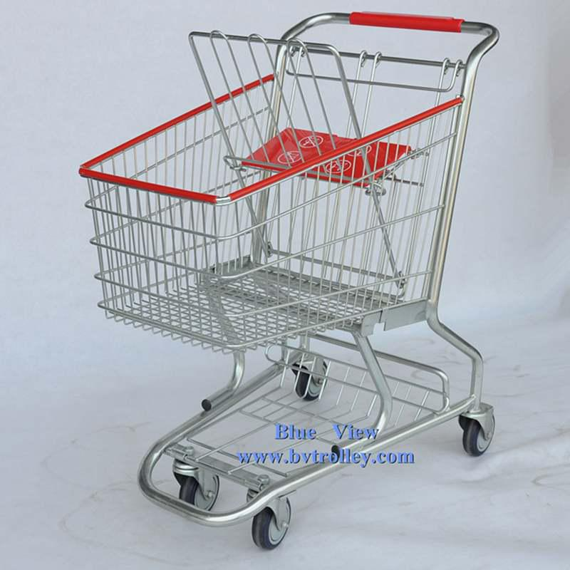 American Style shopping trolley
