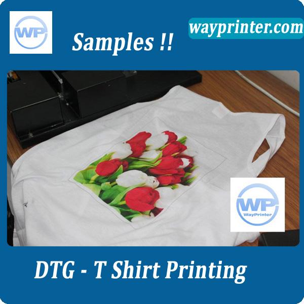 T shirt flatbed printer inkjet dtg purchasing souring for Inkjet t shirt printing