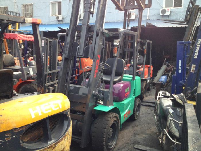Used Diesel Forklift TCM FD35 / Diesel Forklift TCM FD35