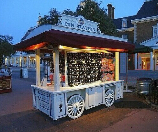 D Printer Exhibition Europe : Mobile food cart outdoor retail kiosk for coffee
