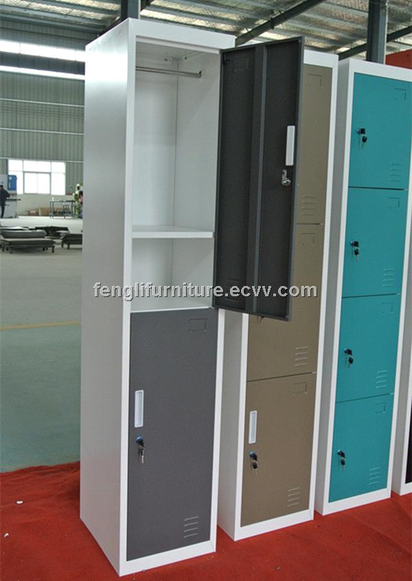 2 Door metal school locker for sale