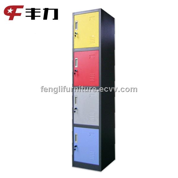 Office use 4 door metal sample storage cabinet