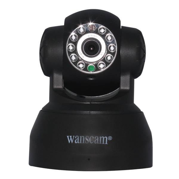 Wanscam JW0009 SD Card PT Wireless Two-way audio baby monitor IP Camera